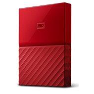"""WD 2,5"""" My Passport 2 TB červený slim - Externý disk"""
