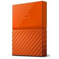 "WD 2,5"" My Passport 2 TB oranžový slim - Externý disk"
