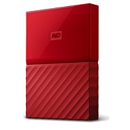 "WD 2.5"" My Passport 2TB červený - Externý disk"