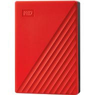 WD My Passport 2TB, červený - Externý disk