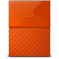 WD My Passport 2TB USB 3.0 oranžový