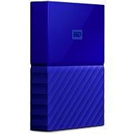 WD My Passport 4TB USB 3.0 modrý