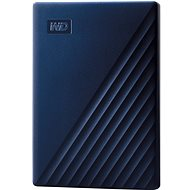 WD My Passport pre Mac 4TB, modrý - Externý disk