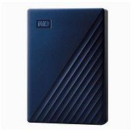 WD My Passport pre Mac 5TB, modrý - Externý disk