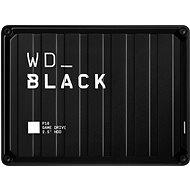 WD BLACK P10 Game drive 4TB, čierny - Externý disk