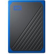 WD My Passport GO SSD 500GB modrý - Externý disk
