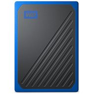 WD My Passport GO SSD 2TB modrý - Externý disk