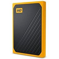 WD My Passport GO SSD 2TB žltý - Externý disk