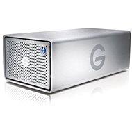 G technology G-Raid 8TB, Strieborný - Externý disk