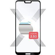 FIXED Full-Cover pre Huawei P20 Lite čierne - Ochranné sklo