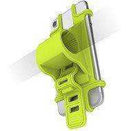 CELLY EASY BIKE pre telefóny na upevnenie na riadidlá zelený - Puzdro na mobil