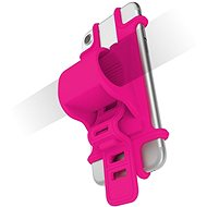 CELLY EASY BIKE na telefóny k pripevneniu na riadidlá ružový - Puzdro na mobil