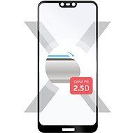 FIXED Full-Cover na Nokia 7.1 cez celý displej čierne - Ochranné sklo