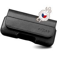 Puzdro na mobil FIXED Sarif horizontálne XL čierne - Pouzdro na mobil