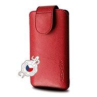 FIXED Sarif 5XL+ červené - Puzdro na mobil