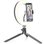 Cellularline Selfie Ring s LED osvetlením pre selfie fotky a videá čierna