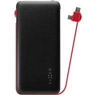FIXED Zen s káblom micro USB/USB-C 10000 mAh čierny