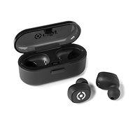 CELLY TWINS černá - Bluetooth slúchadlá