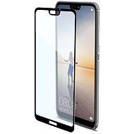 CELLY Full Glass pre Huawei P20 Lite black - Ochranné sklo