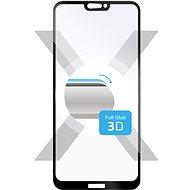 FIXED 3D Full-Cover pre Huawei P20 Lite čierne - Ochranné sklo