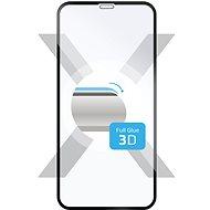 FIXED 3D Full-Cover pre Apple iPhone XR/11 čierne - Ochranné sklo