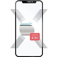 FIXED Full-Cover na Huawei Nova 3 čierne - Ochranné sklo