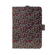 FIXED Novel so stojanom a vreckom na stylus PU koža motív Rainbow Dots - Puzdro na tablet