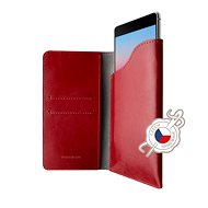 FIXED Pocket Book na Apple iPhone 6 Plus/6S Plus/7 Plus/8 Plus/XS Max červené - Puzdro na mobil