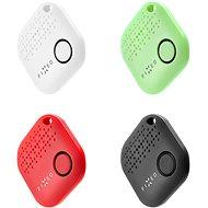 FIXED Smile 4-PACK čierny/biely/červený/zelený - Bluetooth lokalizačný čip
