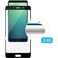 FIXED Full-Cover pre Nokia 7.1 Plus čierne - Ochranné sklo