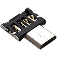 FIXED micro USB OTG mini čierny