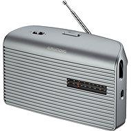 GRUNDIG Music 60 strieborné - Rádio