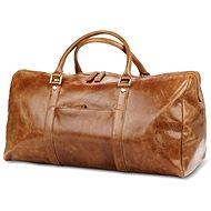 dbramante1928 Kastrup 2 Weekender Dark Tan - Cestovná taška