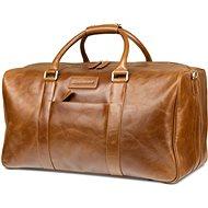 dbramante1928 Aalborg Weekender Bag Dark Tan - Cestovná taška