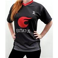 eXtatus hráčský dres česká vlajka černý M - Dres e2f2b530a11