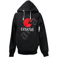 eXtatus mikina bez sponzorov čierna