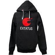 eXtatus fanúšikovská mikina čierna XL - Mikina