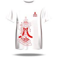 Atari T-Shirt – Iconic Joystick Blueprint - Tričko