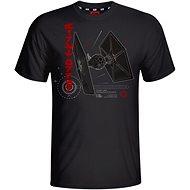 Star Wars Tie T-0926 T-Shirt – M - Tričko