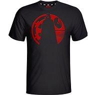 Star Wars Vader Red Puff T-Shirt - Tričko