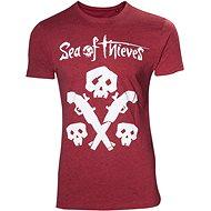 Sea of Thieves – tričko s lebkou a zbraňou - Tričko