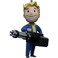 Fallout Vault Boy 3D – Big Gun – kľúčenka - Kľúčenka
