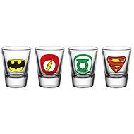 DC Comics – kalíšok (4×) - Poháre na studené nápoje