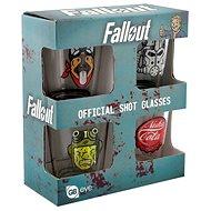Fallout – kalíšok (4×) - Poháre na studené nápoje