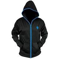 Dell – Alienware Zip-Glow Hoodie Black – M - Mikina
