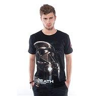 STAR WARS Death Trooper - černé tričko - Tričko