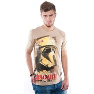 STAR WARS Scarif – piesočné tričko M - Tričko