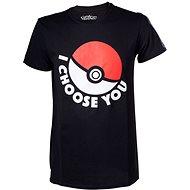 "Pokémon ""I choose you"" – tričko - Tričko"