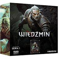 Zaklínač – Geralt – oficiálne puzzle - Puzzle