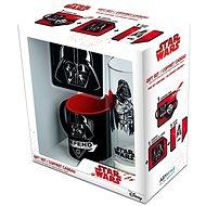 Star Wars Vader set – hrnček, podložka, pohár - Darčeková sada
